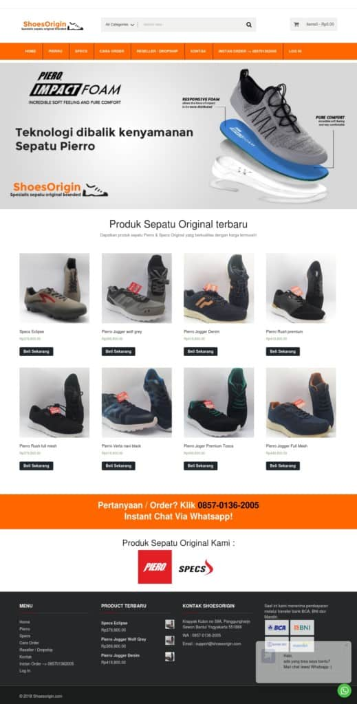 Shoes Origin